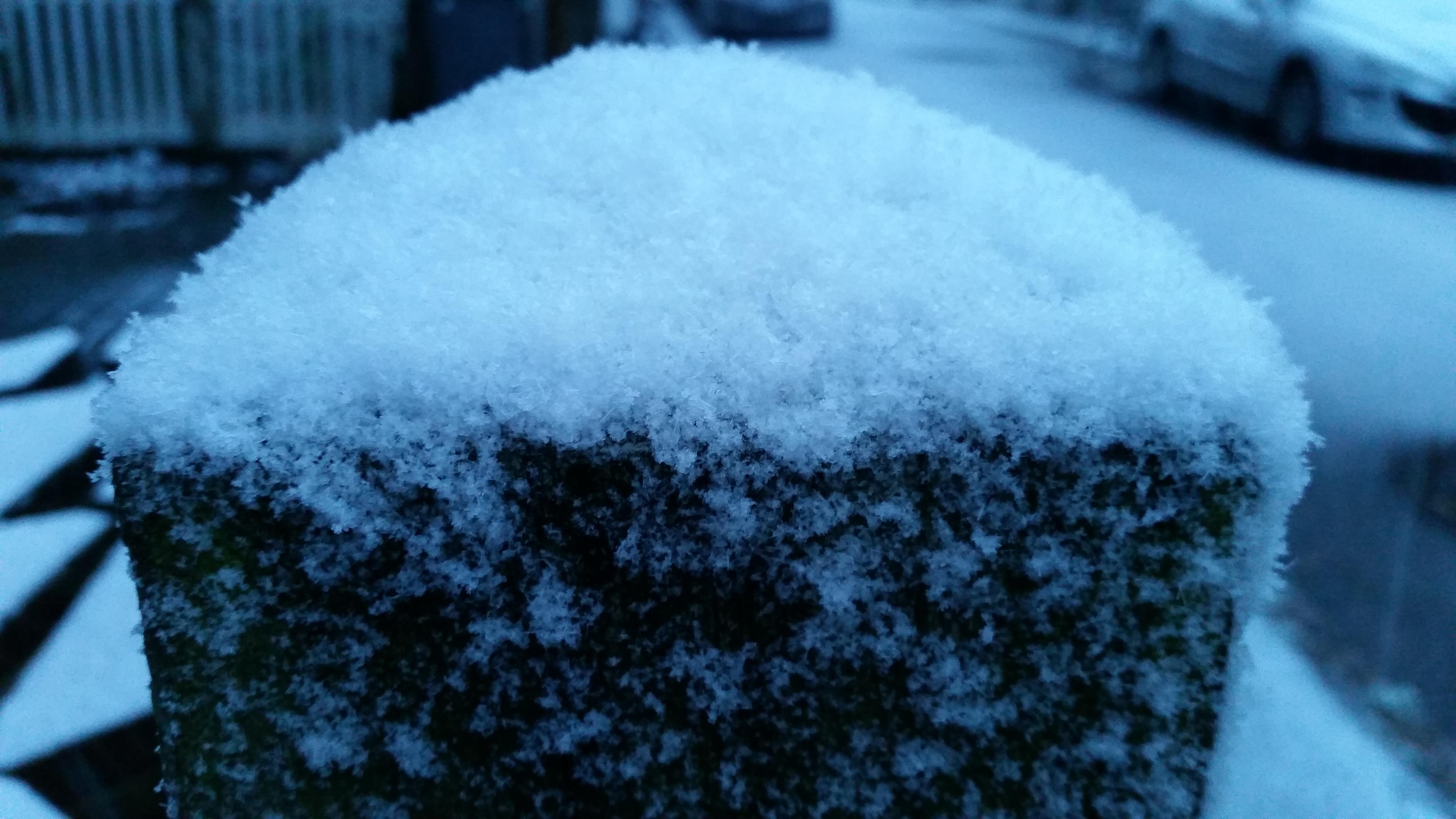 det sner